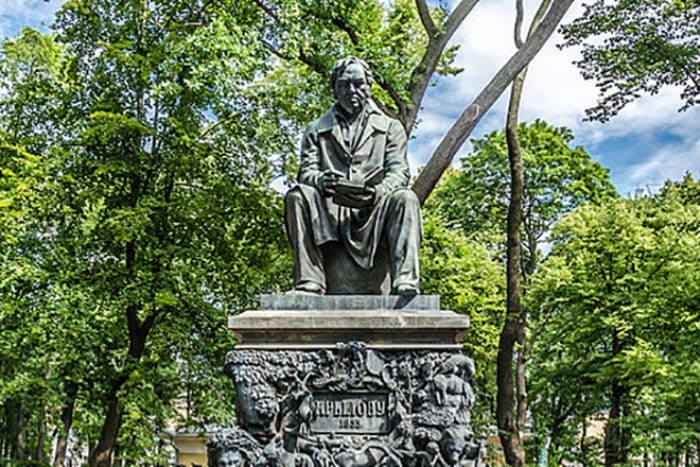 Памятник Ивану Крылову | Фото: 24smi.org