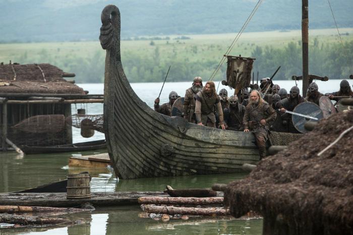 Кадр из сериала Викинги.